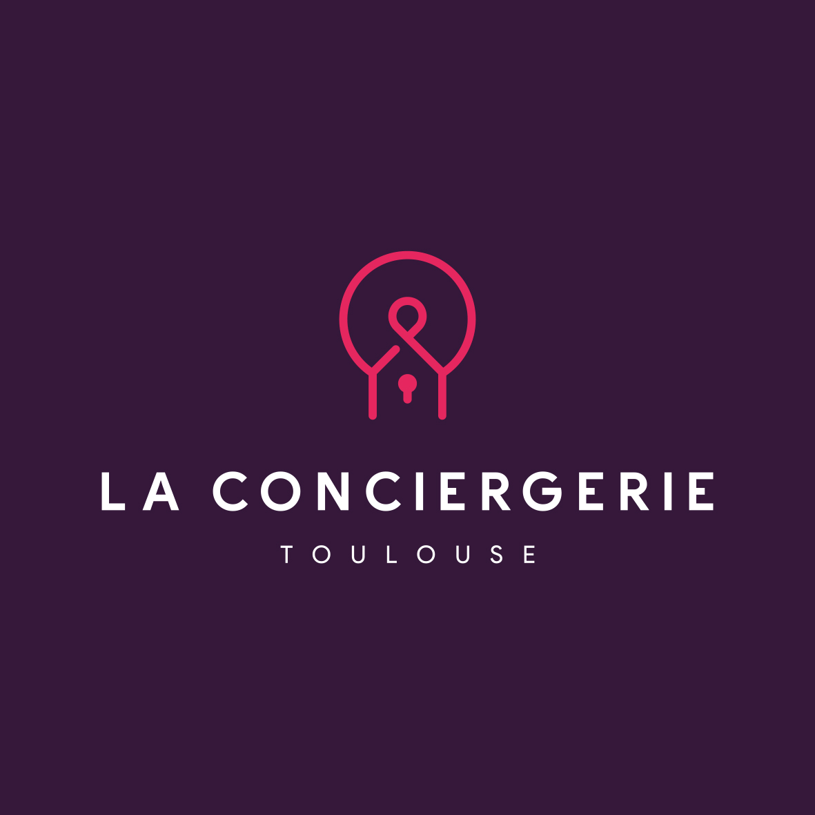 CONCIERGERIE LOGO LEAD